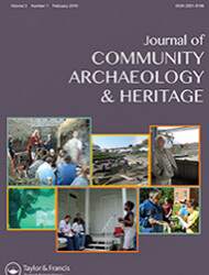 Journal of Community archeology & heritage