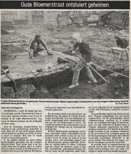Opgraving Piersonstraat Nijmegen