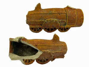 Kleipijp, locomotief