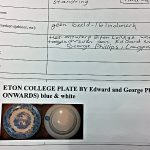 Eton College Plate