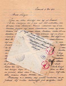 Een brief van mijn opa Piet