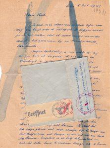 Een brief van Wim