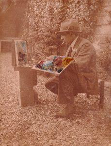 Wim, gemankeerd kunstschilder