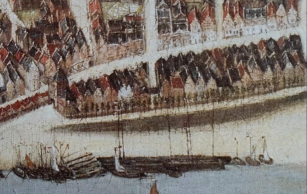 Waalkade Nijmegen 1669