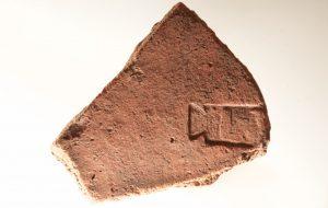 Romeinse dakpanstempel